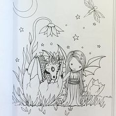 Whimsical World Coloring Book: Fairies, Mermaids, Witches, Angels and More! Witch Coloring Pages, Adult Coloring Pages, Coloring Sheets, Coloring Books, Halloween Coloring, Digi Stamps, Colorful Pictures, Embroidery Patterns, Drawings