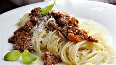 Enkel spagetti bolognese