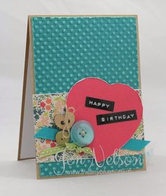 The Tiny Blue Butterfly: BIrthday Cards