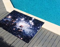 Nebula Rugs and Towels by Schönstaub - Radiolab