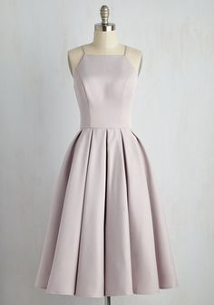 Chic Silver Bridesmaid Dress || Beloved and Beyond Midi Dress