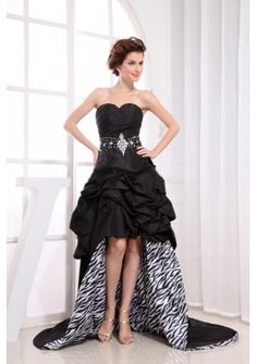 triumph $175.68 http://www.topdresses100.com/black-highlow-prom-dress-with-sweetheart-beaded-pickups-for-custom-made-p-9585.html