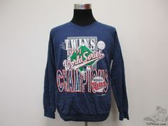 Vtg 90s Garan Minnesota Twins 1991 World Series Crewneck Sweatshirt sz L MLB #Garan #MinnesotaTwins