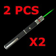 2 X 532nm 5mw Green Laser Pointer Pen Beam Light by LTdash. $11.79. Wave length: 532nm. Range in darkness: more than 1000 meters. Power supply:AAA Batteries x2  (not included) Laser color: Green Working Curreent:<60mA Working Voltage:3-3.7v Starting voltage2.6v(DC) Storage Temperature:-10 ~40 centigrade degrees Wroking Temperature:0 ~35 centigrade degrees  This high-quality laser pointer incorporates the latest technology in green laser optics and Microelectron...