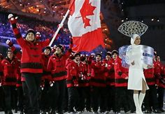 Quotes from the opening ceremony of the Sochi Olympic Winter Games Winter Olympics 2014, Usa Olympics, Hayley Wickenheiser, Olympics Opening Ceremony, Health And Fitness Magazine, Olympic Athletes, O Canada, Winter Games, Sustainable Fashion