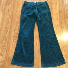 Juicy couture velour teal pants size small Nice teal juicy couture pants teals size small Juicy Couture Pants