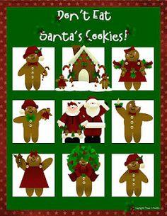 Don't Eat Santa's Cookies!