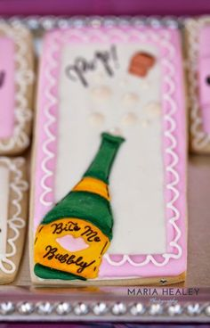 Pop the Champagne.No More Ball & Chain™ Divorce Party - Made by A Princess Breakup Party, Divorce Party, Crazy Cookies, Thank You Friend, Under The Tuscan Sun, Party Pops, Ending A Relationship, Party Themes, Party Ideas