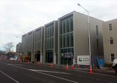Commercial buildings in Christchurch built to last.