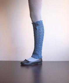 PDF crochet pattern Leg warmers lace boot cuffs  by byaccessorise, $4.90
