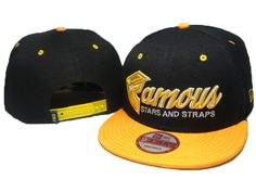 Famous Stars And Straps New Era Hats Black 0517! Only $8.90USD