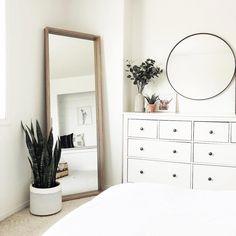 - Home Fashion Trend Room Ideas Bedroom, Home Bedroom, Bedroom Decor, Bedroom Inspo, Ikea Bedroom, Bedroom Inspiration, Bedroom Furniture, Master Bedroom, Cute Room Decor