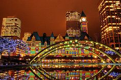 Christmas In Toronto Canada.35 Best Holidays In Toronto Images Toronto Holiday