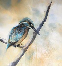 The lookout by sandra binney Bird Paintings, Bird Drawings, Painting & Drawing, Artist, Animals, Paintings Of Birds, Drawings Of Birds, Animaux, Animal