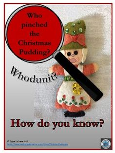 Christmas mystery for younger readers to solve. Mystery includes all of the suspects, clues and answers for a fun classroom lesson. No preparation needed. Just print out the booklet and go. Critical Thinking Activities, Critical Thinking Skills, Christmas Words, Christmas Fun, Christmas Activities, Activities For Kids, Relief Teacher, Higher Order Thinking, Substitute Teacher