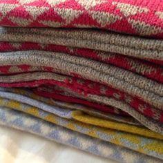 Samples - machine knitting
