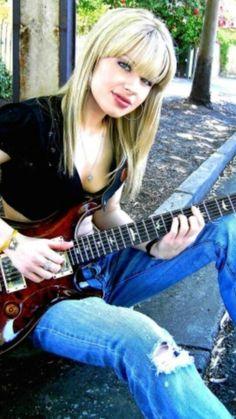 Orianthi Panagaris Angela Gossow, Cristina Scabbia, Shirley Manson, Pretty Reckless, Female Guitarist, Female Singers, Taylor Momsen, Paramore, Playlists