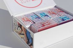 Solid Surf Wax packaging design. Designed by: Wesley Parsons, USA.