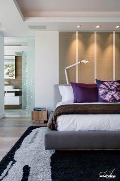 single family residence designed by ellen in't veld   interior ... - Modernes Schlafzimmer Design Fur Grose Familien