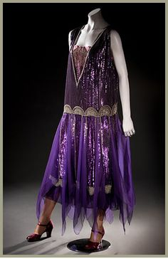 evening dress c. 1924 Paul Poiret, Paris, FIDM collection
