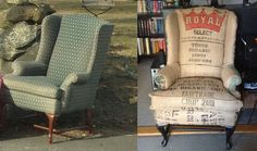 i want to upcycle some cool old chairs when i get a place <3