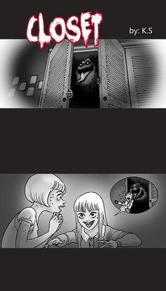 Silent Horror :: Closet | Tapastic Comics - image 1