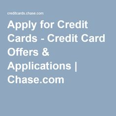 credit cards to apply for online
