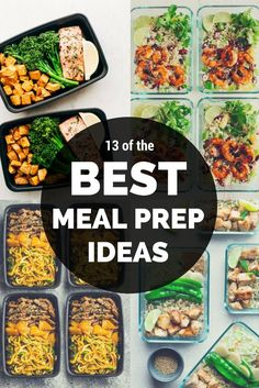 Healthy Meal Prep Ideas for on the Go! Paleo meal prep ideas, Whole 30 meal prep ideas, Weekly meal prep ideas, The Best Meal Prep ideas for weight loss,
