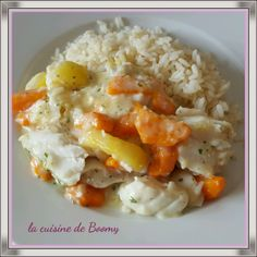 Great A recipe that I've had for a while in my favorites and that I absolutely wanted to try. It's tasty and it changes the traditional blanquette. A small delight and simple to do Source: unknown For 4 pers / 4 pp per pers 1 shallot … Good Healthy Recipes, Ww Recipes, Healthy Breakfast Recipes, Healthy Cooking, Pasta Recipes, Healthy Dinner Recipes, Cooking Recipes, Shrimp Recipes, Fish Recipes