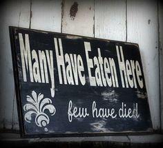 .... y los pocos que han muerto lo hicieron ahítos. Sslamds