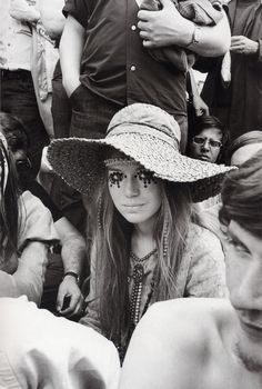 """Girl at Rolling Stones concert"" is probably one of the most iconic images from the late sixties, but we never really had a name. Until now. I was researching something Marianne Faithfull related when I came across an article about the Stone's free concert in Hyde Park, London in 1969. It has a shot of this girl and the caption reads: ""Hats off to teenage fashion … as displayed by the eye-catching sequins worn by Pamela Donaldson (…)"". Unfortunately I could not find any…"