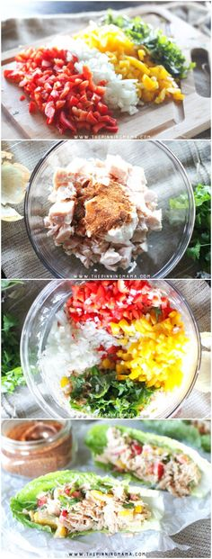 Barbecue Chicken Salad recipe - This is SOOOOO good!  Perfect for summer lunch!  Plus as a bonus everyone can eat it because this recipe is naturally paleo, gluten free, dairy free and whole30 compliant but you will love it whether you are on a diet or not because it is absolutely DELICIOUS! It is a fast and easy recipe to make and is the perfect lunch or summer dish.