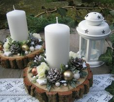 70 Simple And Popular Christmas Decorations Table Decorations Christmas Candles DIY Christmas Centerp 70 Simple And Popular Christmas Decorations Table Decorations Christmas Candles DIY Christmas Centerpiece Christmas Crafts Christmas Decor DIY Centerpiece Christmas, Christmas Window Decorations, Christmas Candles, Diy Christmas Ornaments, Rustic Christmas, Simple Christmas, Christmas Wreaths, Diy Christmas Village, Candle Decorations