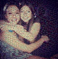"gift: photo mosaic: Many girls ""on the Bar Bat Mitzvah circuit"" create homemade gifts for their Bat Mitzvah friends and make a presentation during the cocktail hour. Photo Mosaic is a free app that can help, plus we have more ideas. Best Friend Gifts, Gifts For Friends, Best Gifts, Homemade Gifts, Diy Gifts, Make A Presentation, Bat Mitzvah Gifts, Bar Mitzvah Invitations, Photo Mosaic"