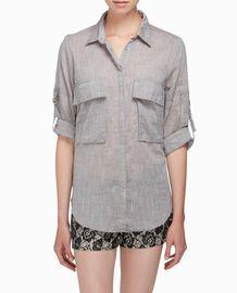 Linen, great look for women.