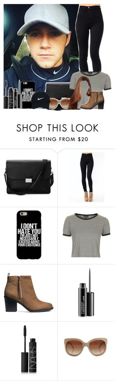 """""""Watching Niall Play Golf"""" by chantellehami ❤ liked on Polyvore featuring Aspinal of London, Topshop, H&M, MAC Cosmetics, NARS Cosmetics, STELLA McCARTNEY and Nike Golf"""