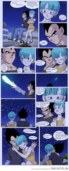 Vegeta's romance - The Meta Picture The last thing, that Vegeta said: :)
