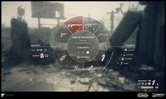 ArtStation - UI - Homefront: The Revolution, Faye Kime