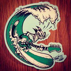 Vintage Cartoons, Vintage Comics, Cartoon Kunst, Cartoon Art, Surfer Kids, Los Primates, Badass Drawings, Rockabilly Art, American Cartoons