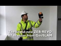 Demonstrating GeoSLAM's new ZEB-REVO RT mobile scanning technology on a live construction site. Poly Tanks, 3d Scanners, Im Excited