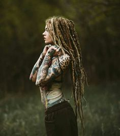 Dreads and tattoos