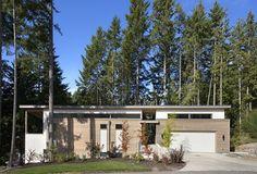 modular construction house sloping terrain design