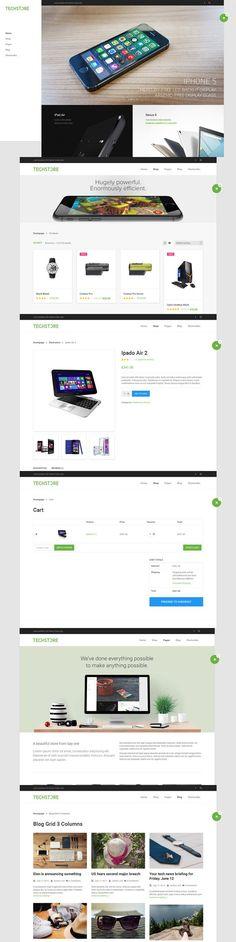 DW TechStore - WP eCommerce Theme. WordPress eCommerce Themes. $29.00