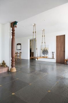 Minimalism meets vernacular Design Experiment - The Architects Diary # Indian Interior Design, Indian Home Design, Kerala House Design, India Home Decor, Ethnic Home Decor, Village House Design, Bungalow House Design, Apartment Therapy, Chettinad House