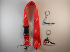 $10.44 One Jordan lanyard with two jordan keychains. Greatest baller ever. Great gift idea.