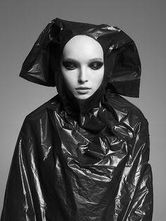 photo by Andrea Zvadova Across The Universe, Fashion Story, Weird, Hair Makeup, Batman, Superhero, Dark, Artist, Pictures