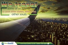 """"""" We travel some of us forever to seek other states, other lives, other souls.""""      - Anais Nin -      #travel #travelgram #traveltheworld #besttravelagents #traveloffers #states  #landa #lives #souls #traveling #everywhere #tourcenter #travelyear2016      ✈✈✈ http://www.tourcenter.co.uk/"""