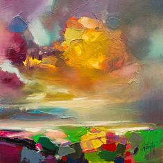Cumulus Crescendo Study by Scott Naismith