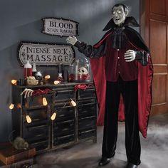animated life size vladimir vampire grandin road holidays halloweenhalloween decorationshalloween