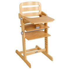 Ninon est une chaise haute moderne et pratique qui grandit avec votre enfant. Elle est fournie avec sa tablette et son arceau amovible qui facilite l'installation de votre enfant. Son assise et son marchepied sont ajustables en hauteur et en profondeur. Votre bébé sera installé en toute sécurité dans cette chaise haute très stable grâce à ses longs pieds.